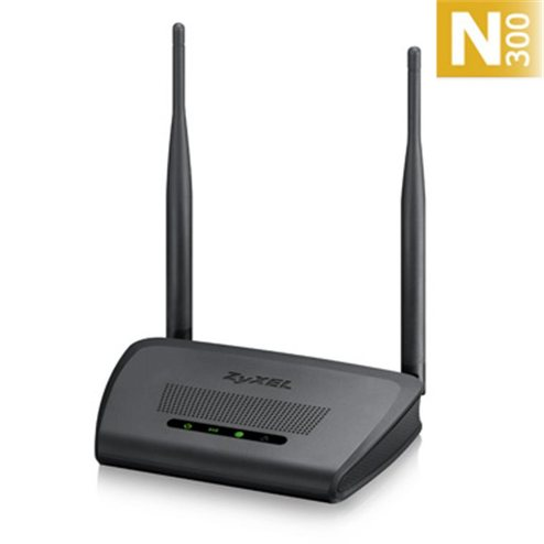 ZyXEL NBG-418N v2, Router Wireless 802.11n (300Mbps), 4x10/100Mb